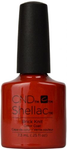 CND Shellac Brick Knit